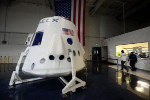 capsula Space X Dragon