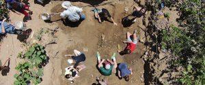 Excavación arqueológica en Playa Jayuya