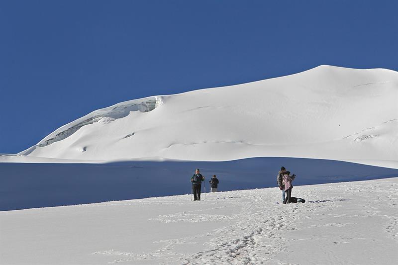 glaciares de los Andes tropicales