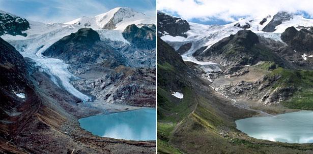 derretimiento glaciar Stein