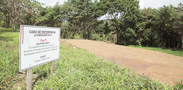 terrenos protegidos de reserva natural