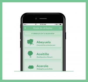 Árbole Nativos App