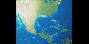 el mapa del mundo si se derritan los glaciares
