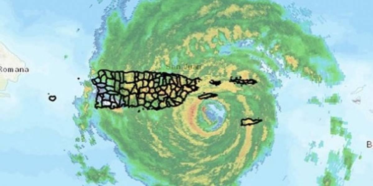 azote de huracan Maria en Puerto Rico