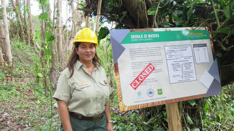 Ecologist Grizelle Gonzalez