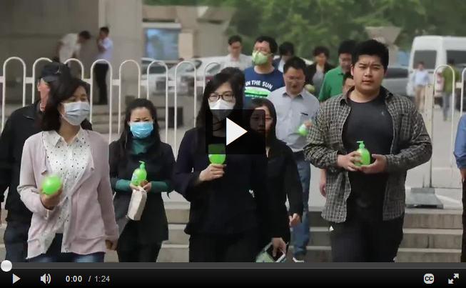 Greenpeace lamenta mejora del aire en Pekin sea en detrimento de otras zonas