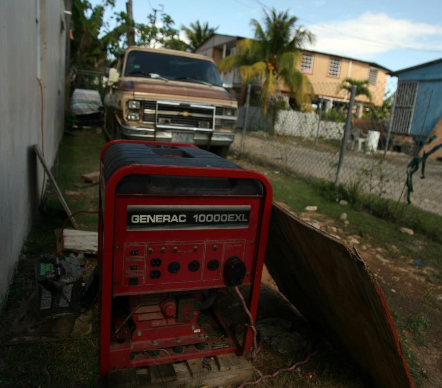 generador electrico calidad del aire