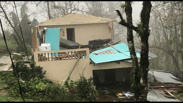 huracan Maria en Barranquitas