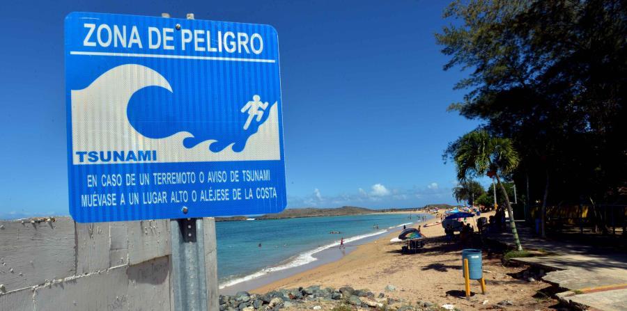 protocolos de tsunami en la isla
