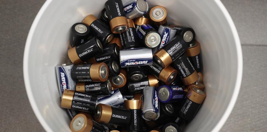 reciclaje de baterias usadas