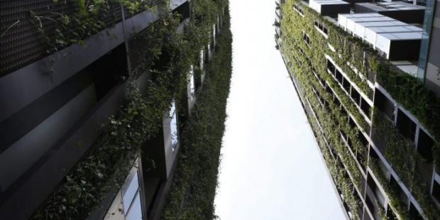 edificio sostenible en Bangkok Tailandia