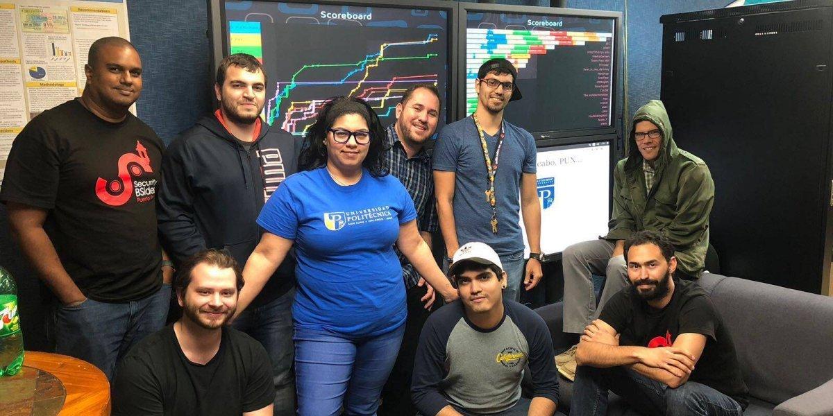 estudiantes de la Universidad Politecnica de Puerto Rico
