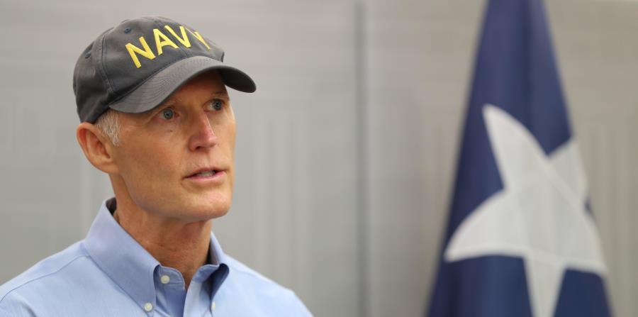 gobernador de Florida Rick Scott