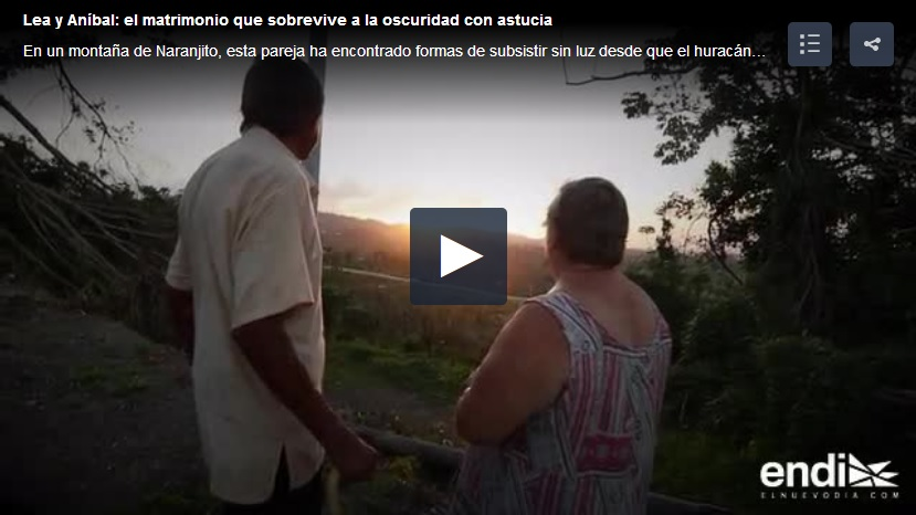 a 6 meses del huracan María en Puerto Rico