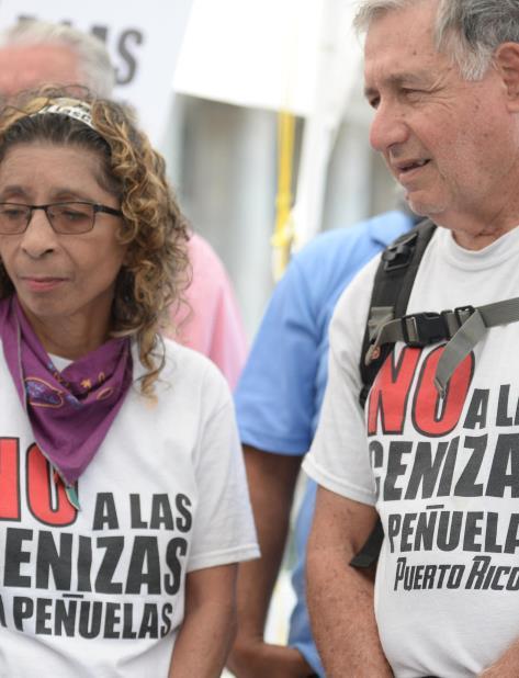 coalicion organizaciones y comunidades cierre AES Puerto Rico