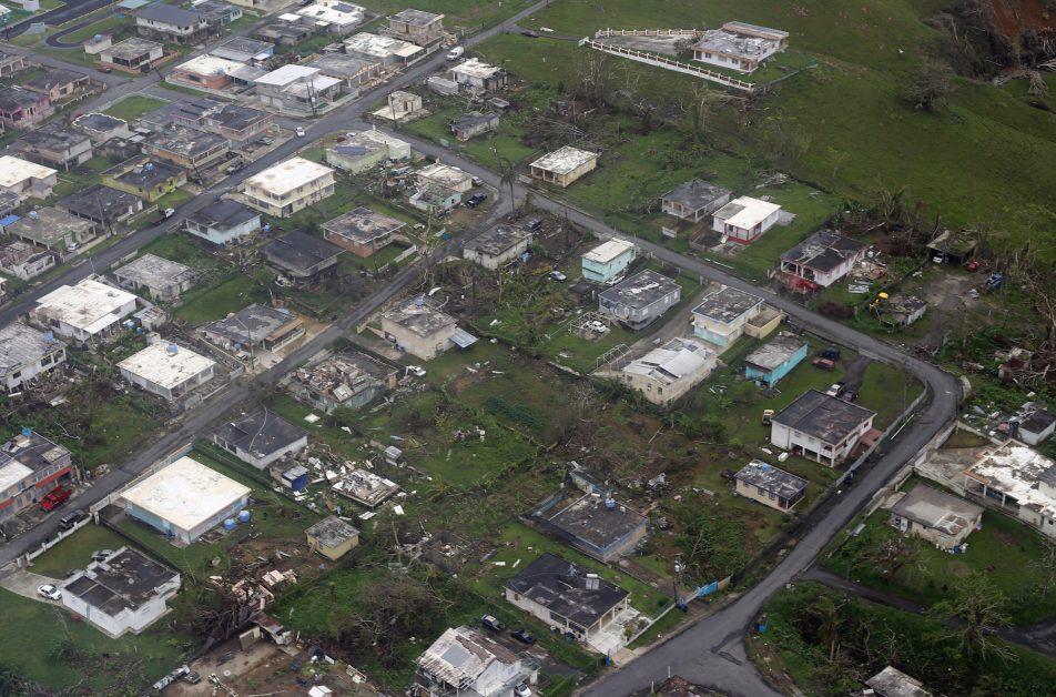 huracan en Puerto Rico