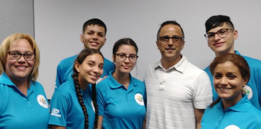 Estudiantes puertorriqueños NASA