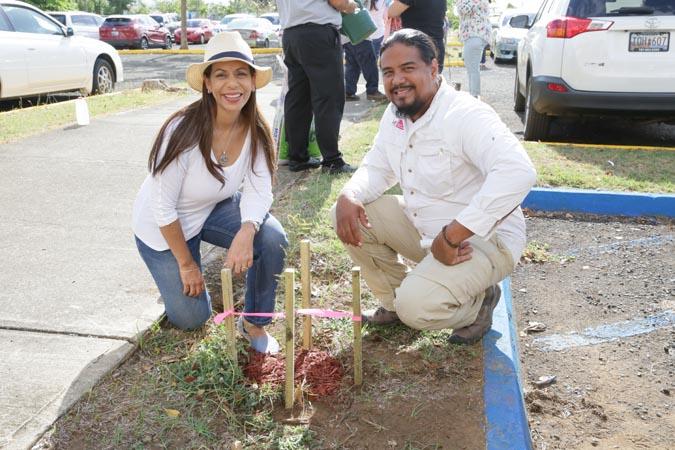 Para la Naturaleza reforestacion Centro Judicial