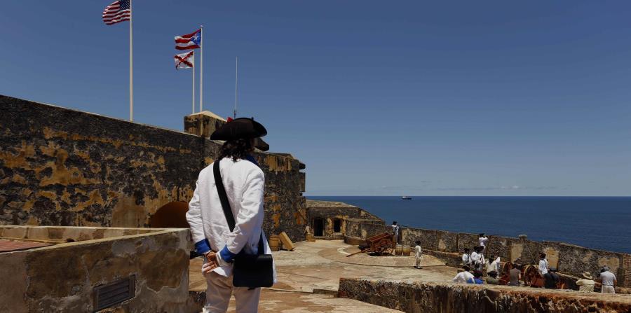 Vista del castillo San Felipe del Morro
