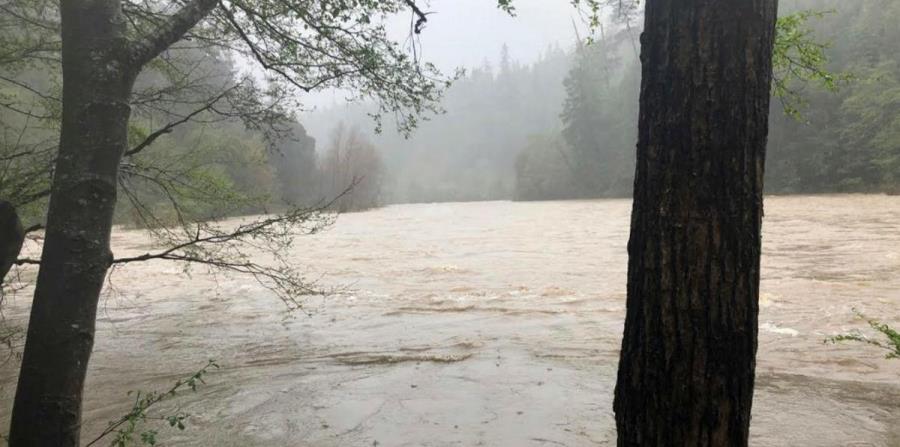 cambio climatico California zona lluvias extremas