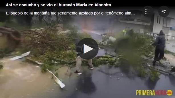 vientos de huracan Maria