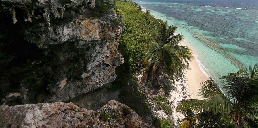 zona costera de la Isla de Mona