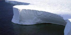 el glaciar mas peligroso de la Antartica