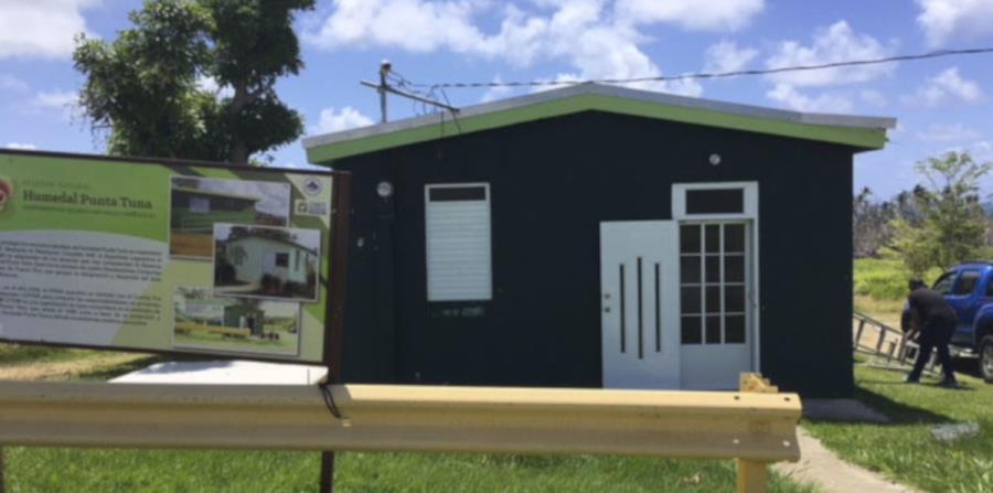 Casa Verde humedal Punta Tuna Maunabo