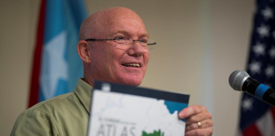 ecologo William Gould El Yunque