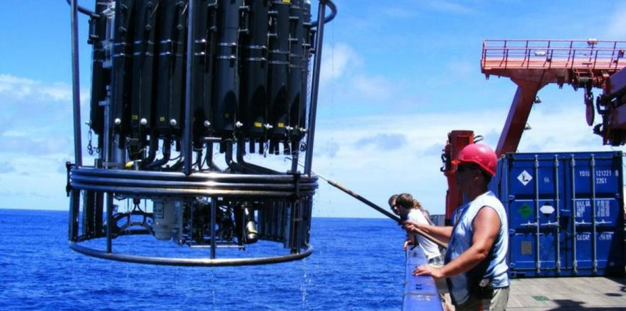 mediciones en los oceanos