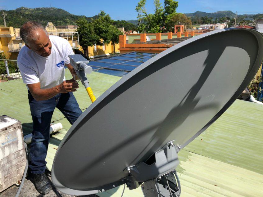sistema de comunicacion satelital