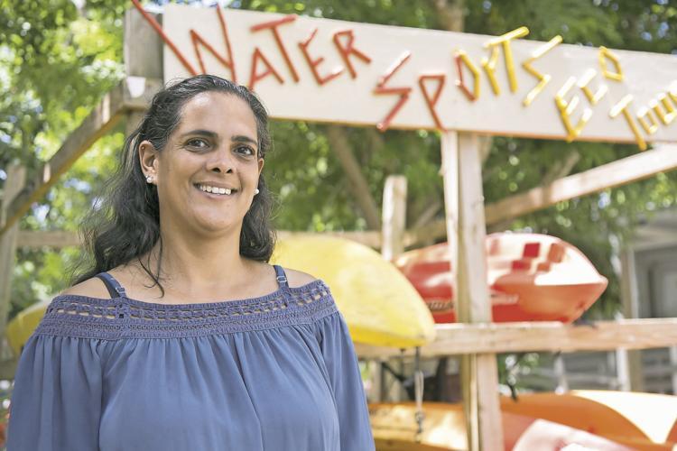 Christina Vázquez propietaria de Water Sports and EcoTours