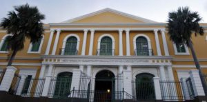 Colegio de Parvulos viejo edificio en San Juan