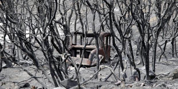 Incendio forestal California EEUU