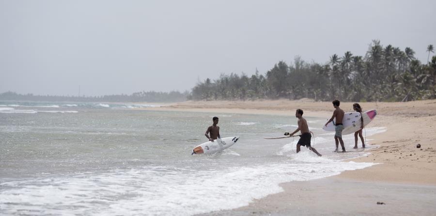 Ruta del Surfing en Puerto Rico