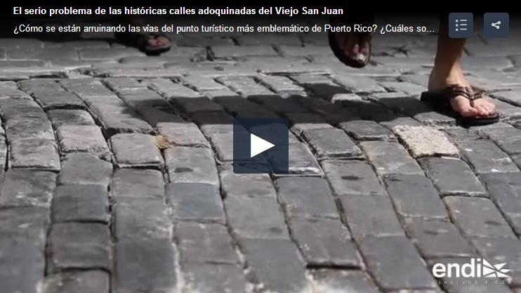 calles adoquinadas en San Juan Puerto Rico