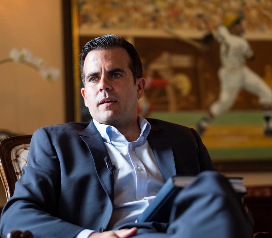 gobernador Ricardo Rosselló Nevares