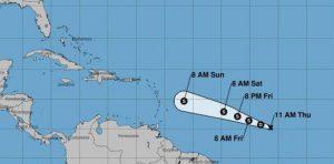 tormenta tropical Beryl