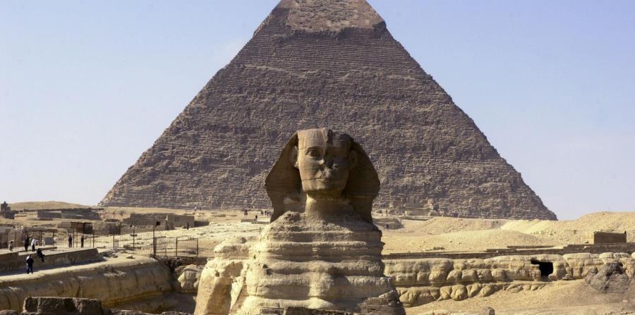 nueva Esfinge en Egipto
