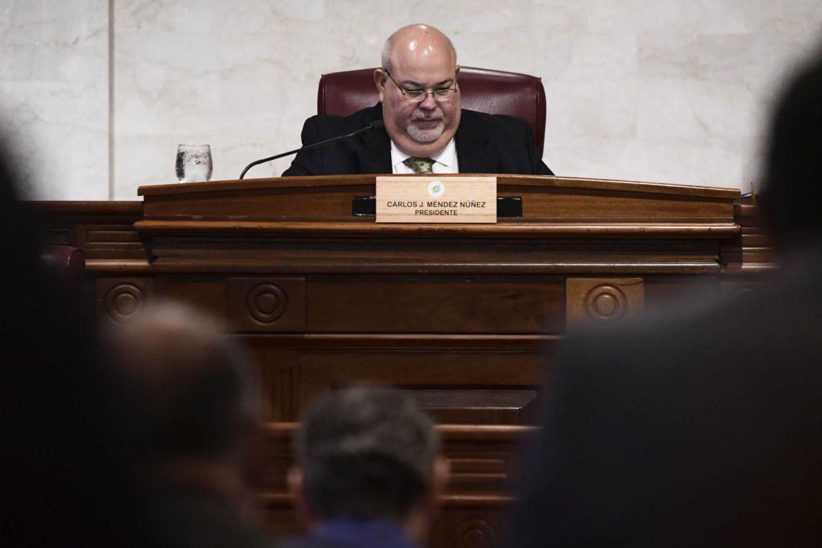 presidente de la Cámara Carlos Johnny Méndez