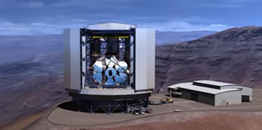 telescopio óptico más grande del mundo