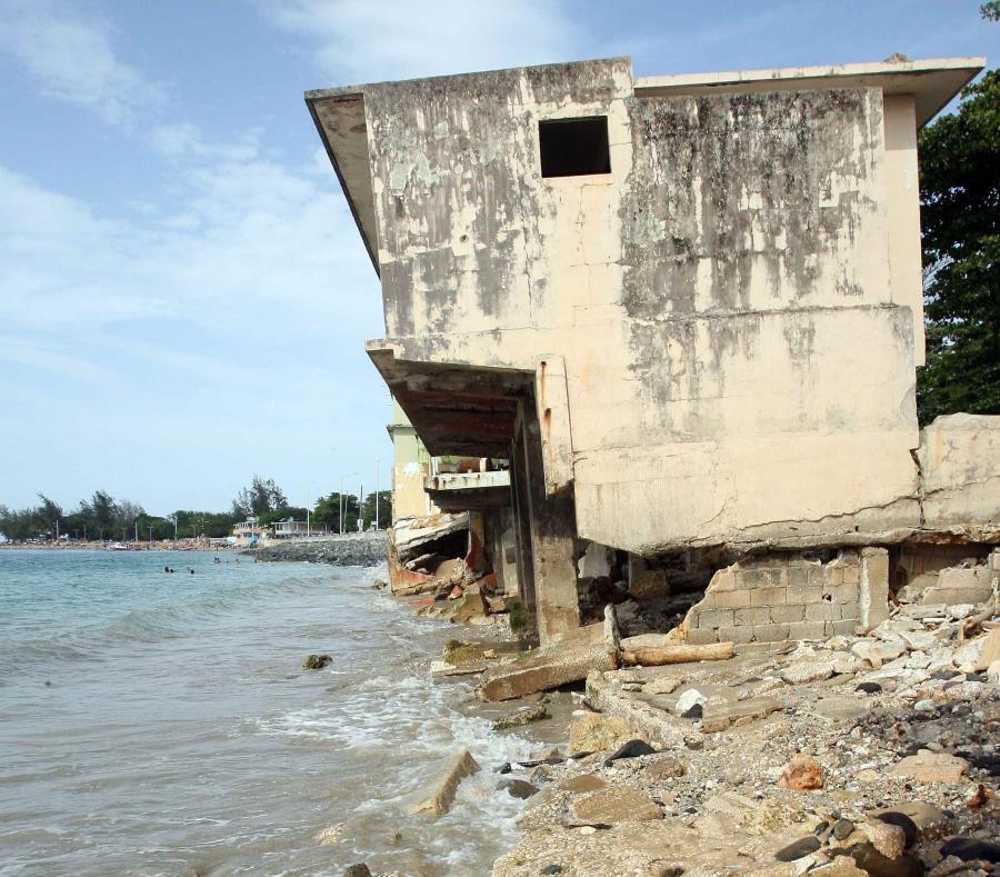 erosión en las costas de Puerto Rico
