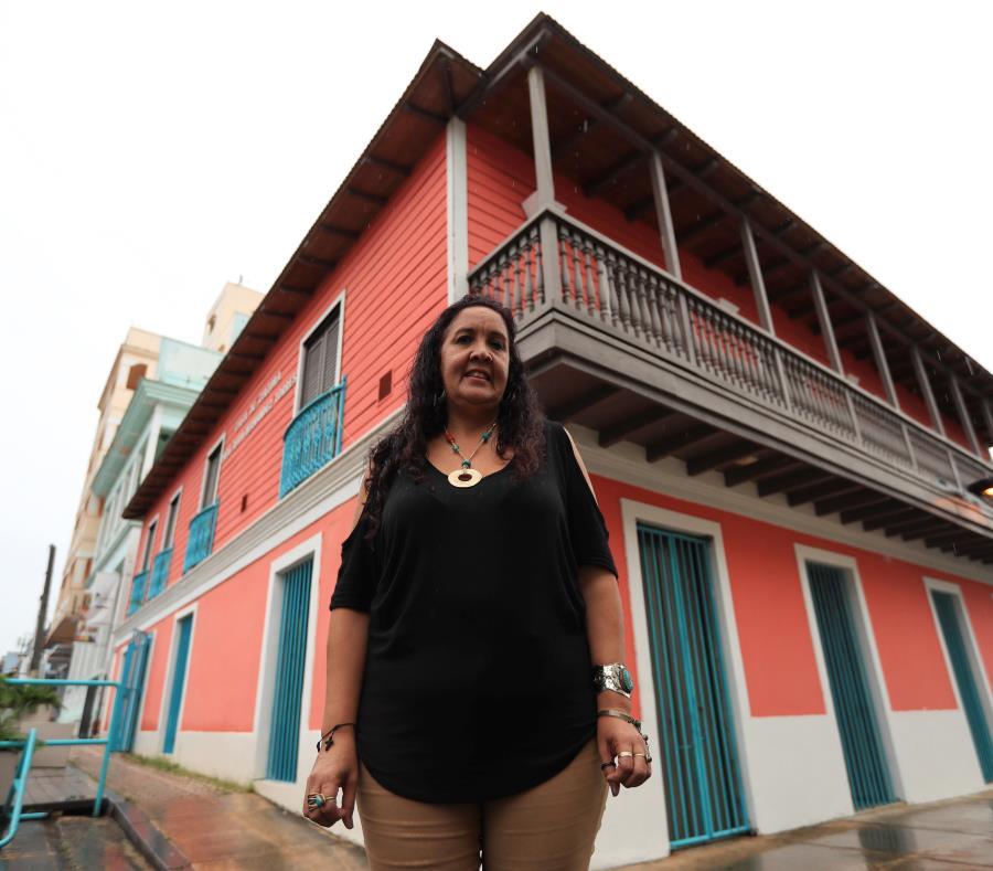 Zenia González Clemente directora de la Junta Comunitaria del Casco Urbano de Río Piedras