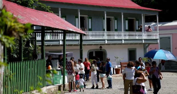 casa abierta de Hacienda Buena Vista
