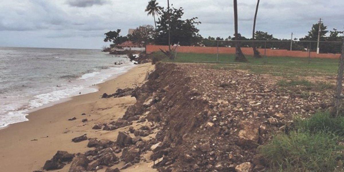 construcciones en la playa
