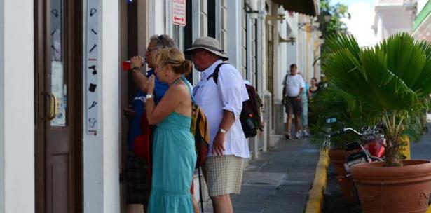 turistas viejo San Juan