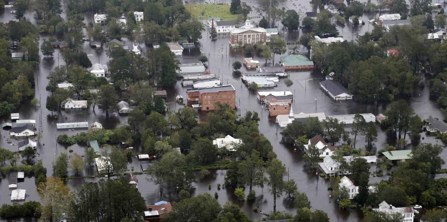 Inundaciones por el huracan Florence en Carolina del Norte