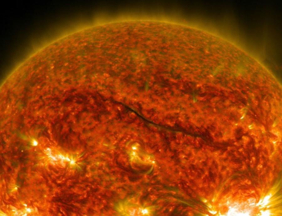 impresionante imagen del Sol