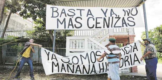manifestacion Penuelas