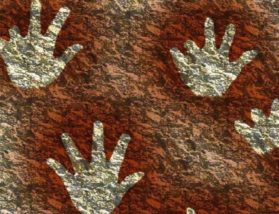 pinturas rupestres manos